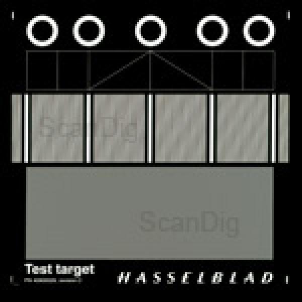 Hasselblad Fokus-Kalibrierungsdia