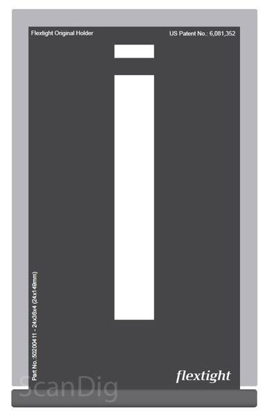 Hasselblad Maske 24x36 4er-Streifen (24x149)