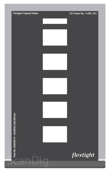 Hasselblad Maske 24x36 5 Einzelbilder (24x35)