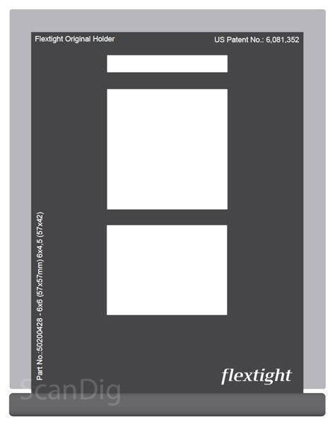 Hasselblad Standardmaske 6x6 + 6x4,5 (57x57 + 57x42)