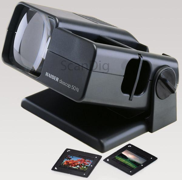 Kaiser Dia-Betrachter LED Diascop 50N